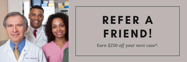 Refer a friend earn a $250 Credit